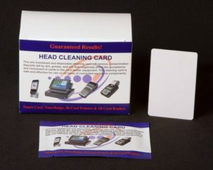 EMV Chip Card Reader Cleaning Card.