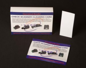 Check Reader/MICR  Cleaning  Card.